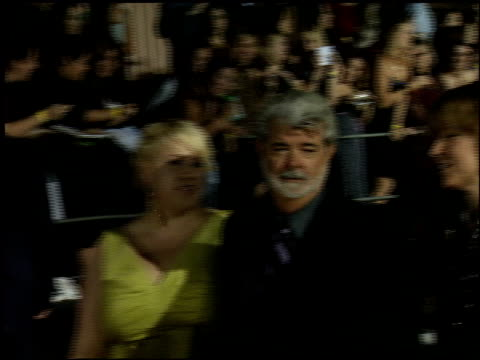 vídeos de stock, filmes e b-roll de george lucas at the 2006 people's choice awards at the shrine auditorium in los angeles california on january 10 2006 - george lucas