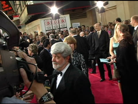 George Lucas at the 33rd AFI Life Achievement Award 'A Tribute to George Lucas' at the Kodak Theatre in Hollywood California on June 9 2005