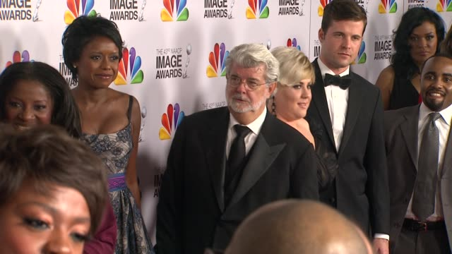 George Lucas at The 43rd NAACP Image Awards Arrivals on 2/17/12 in Los Angeles CA