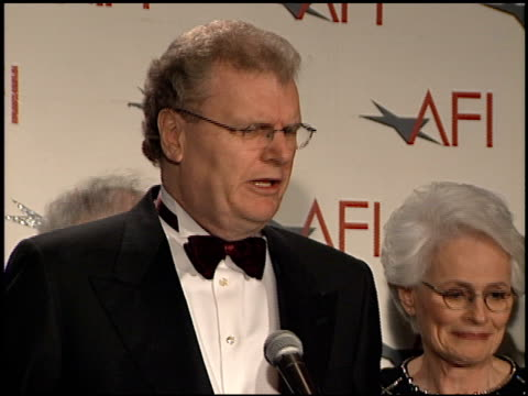 George Lucas at the AFI Celebration Honoring Harrison Ford at the Beverly Hilton in Beverly Hills California on February 17 2000
