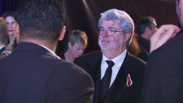 vídeos de stock, filmes e b-roll de george lucas at the nbc universal 67th annual golden globe awards afterparty at beverly hills ca - george lucas