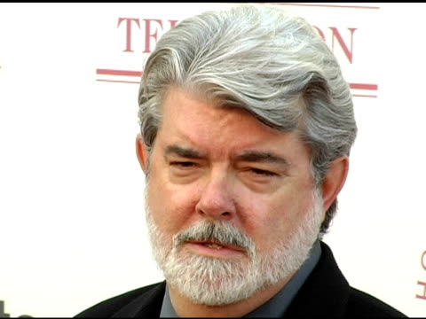 George Lucas at the USC School of Film and Television's 75th Anniversary Gala at Hobart Auditorium in Los Angeles California on September 26 2004