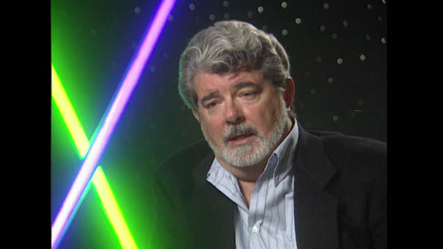 george lucas on seeing his role as being a storyteller for star wars - storyteller stock videos & royalty-free footage