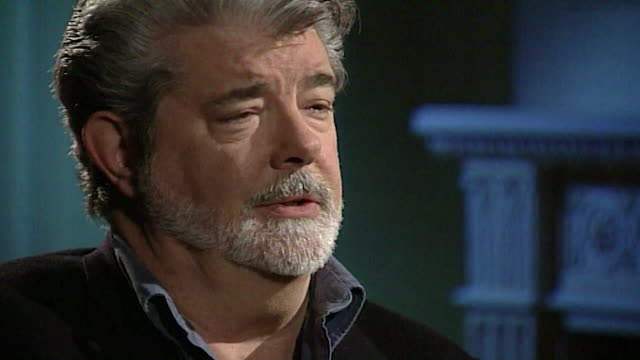 george lucas on star wars fans saying 'i find the whole thing fascinating actuallyit's like a little petri dish on culture the way humans react' - hollywood california stock videos & royalty-free footage