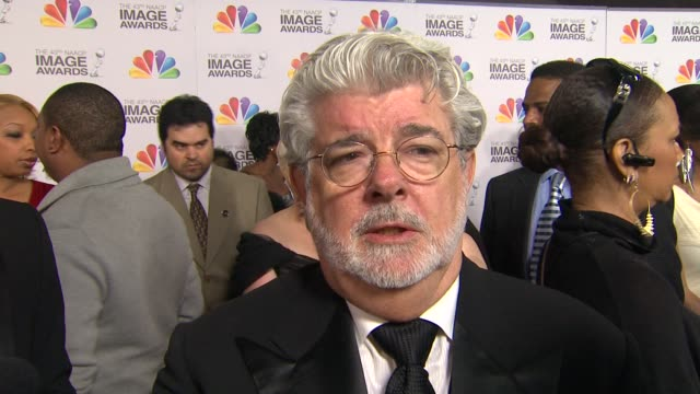 George Lucas on the event at The 43rd NAACP Image Awards Arrivals on 2/17/12 in Los Angeles CA