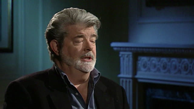 george lucas on the home video industry - storytelling stock videos & royalty-free footage