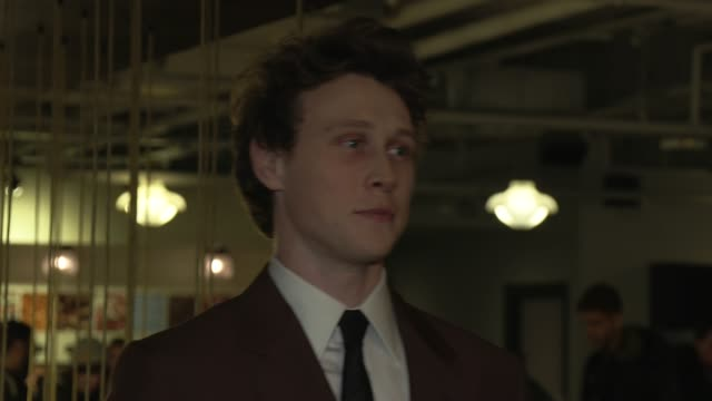 stockvideo's en b-roll-footage met george mackay at picturehouse central on february 17 2020 in london england - george mackay