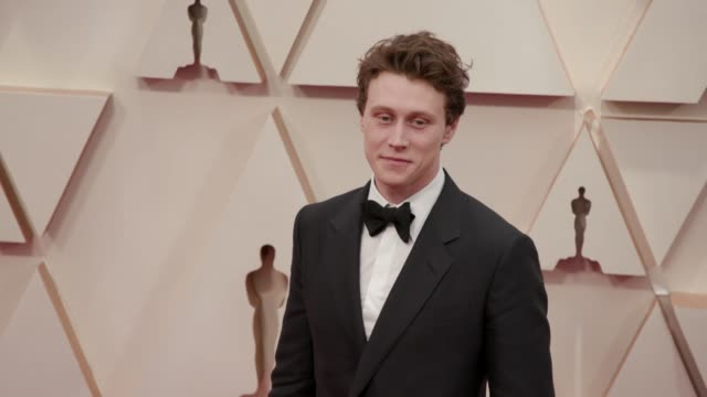 stockvideo's en b-roll-footage met george mackay at the 92nd annual academy awards at dolby theatre on february 09 2020 in hollywood california - george mackay