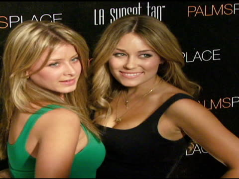 george maloof hosts the grand opening of palms place hotel and spa, las vegas, nv 6/01/08 - ヴァーン トロイヤー点の映像素材/bロール