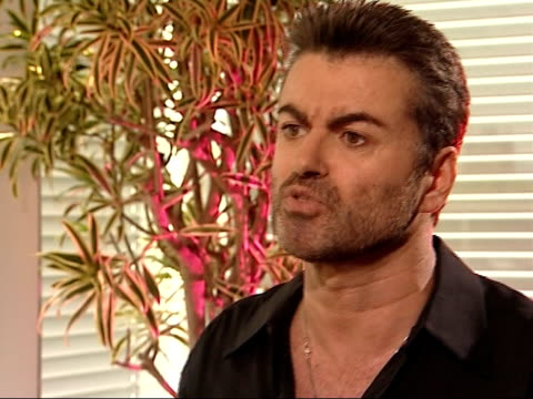 George Michael interview George Michael interview SOT On his preparedness to discuss cruising openly / In twenty years time we will look back on some...