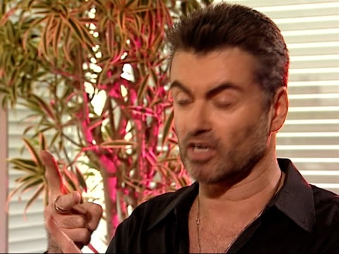george michael interview george michael interview sot on reports that alleged friends are concerned about his lifestyle / on incident earlier in the... - arrest stock videos & royalty-free footage