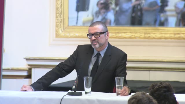 George Michael on dance music gay culture and much more at the George Michael Press Conference at London England