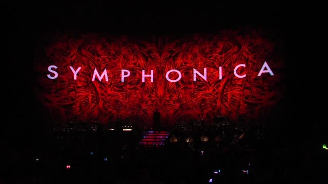 george michael symphonica tour london uk capsule: george michael symphonica tour at royal albert hall on october 25, 2011 in london, england - royal albert hall点の映像素材/bロール