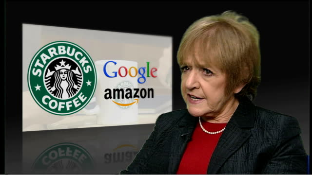 george osborne announces scheme aimed at tackling tax avoidance; london: int margaret hodge mp interview sot - hmrc has to get grip and take action... - vermeidung stock-videos und b-roll-filmmaterial