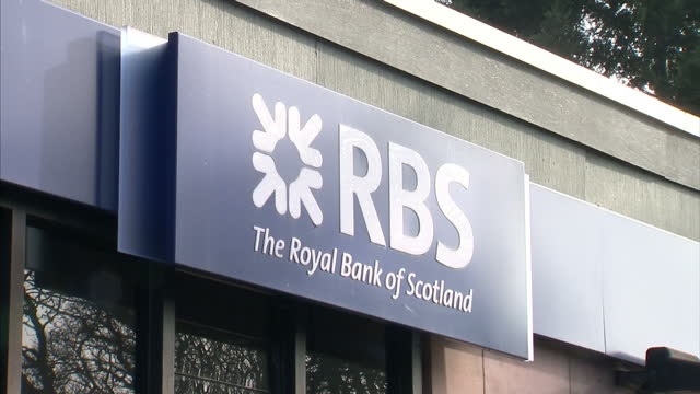 george osborne has announced the first sale of the government's rbs shares. around 2 billion pounds worth of shares are expected to be sold for as... - financial analyst stock videos & royalty-free footage