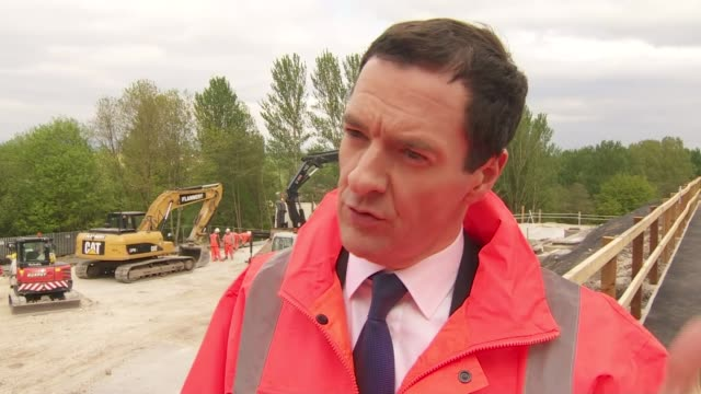 george osborne interview on devolution for english cities england greater manchester bolton ext george osborne mp interview sot building the northern... - bolton greater manchester stock videos and b-roll footage