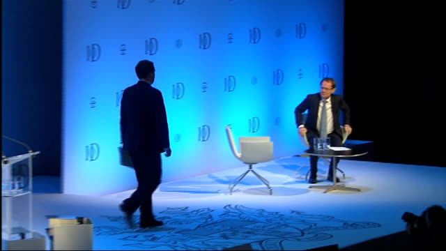 george osborne rejects housing bubble concerns royal albert hall int george osborne mp applauded by audience at end of speech to iod annual... - speech bubble stock videos & royalty-free footage