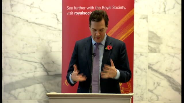 george osborne speech at the royal society osborne speech sot the idea that our science community do not bridge theory and practice science and... - nuclear fusion stock videos and b-roll footage