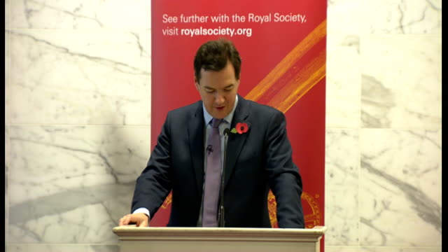 george osborne speech at the royal society osborne speech sot the there is the technology of agriscience the un forecasts that global food production... - animal harness stock videos and b-roll footage