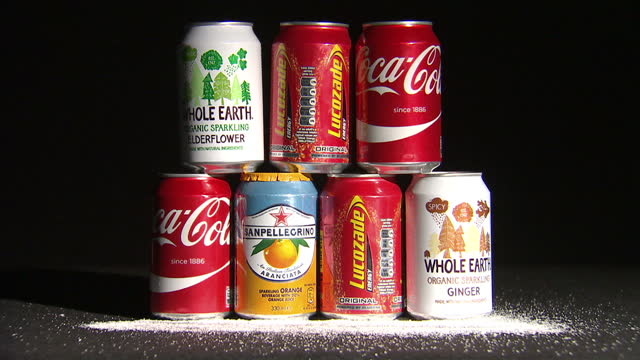 george osborne's big budget sweetener was the announcement of a levy on sugary soft drinks. the so-called sugar tax won't come into force for another... - jamie oliver stock videos & royalty-free footage