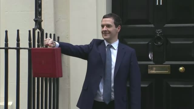 george osborne's first day as evening standard editor george osborne's first day as evening standard editor lib george osborne mp holding up red... - george osborne stock videos & royalty-free footage