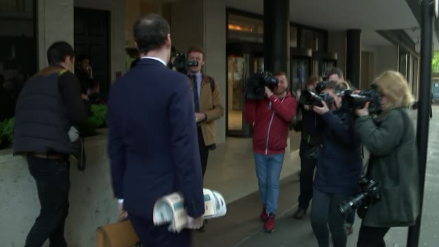 george osborne's first day as evening standard editor george osborne's first day as evening standard editor england london ext man handing out copies... - folded stock videos and b-roll footage