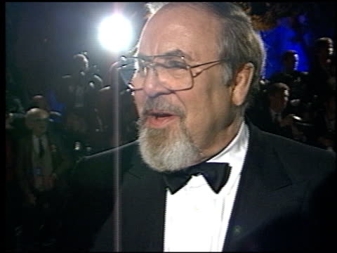 george schlatter at the 1998 academy awards vanity fair party at morton's in west hollywood, california on march 23, 1998. - 第70回アカデミー賞点の映像素材/bロール