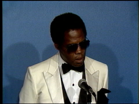 george stanford brown at the 1986 emmy awards at the pasadena civic auditorium in pasadena california on september 21 1986 - pasadena civic auditorium stock videos & royalty-free footage