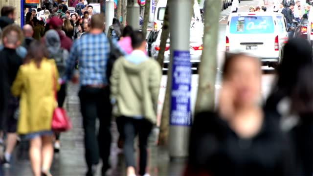 George Street crowds