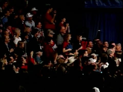George W Bush on role of president addressing crowd on election day Texas Nov 00