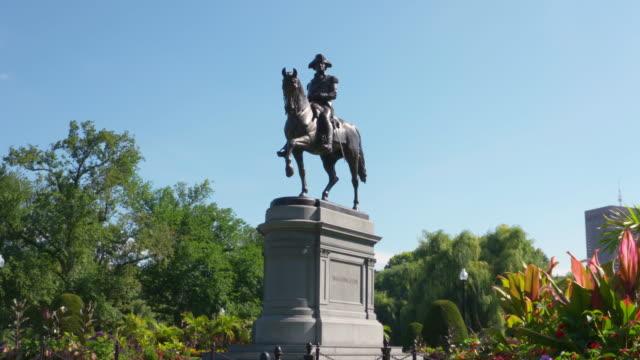george washington statue - george washington stock videos and b-roll footage