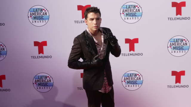 georgel at the latin american music awards 2019 at dolby theatre on october 17 2019 in hollywood california - the dolby theatre video stock e b–roll