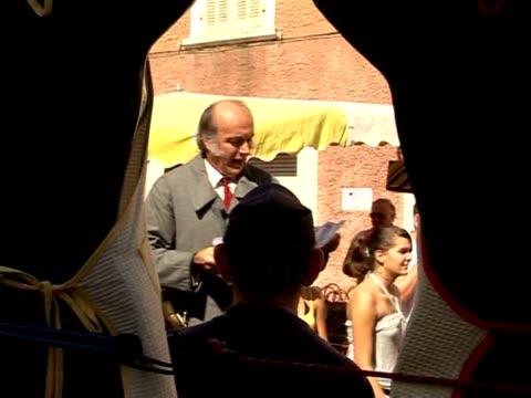 stockvideo's en b-roll-footage met georges perpes is a throwback to the past. la crau, var, france. - var