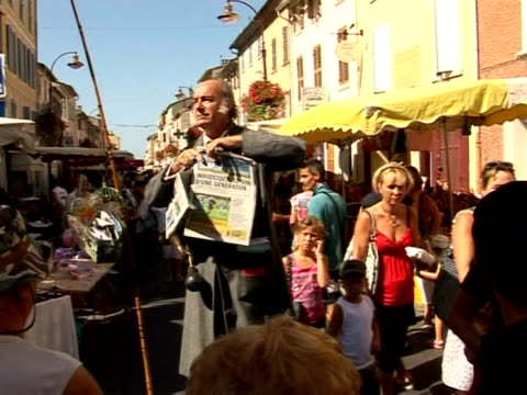 georges perpes is a throwback to the past. la crau, var, france. - var stock videos & royalty-free footage