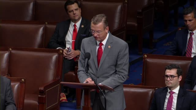 georgia congressman doug collins says in debate on a resolution condemning tweets of president donald trump directed at four democrats that a lot of... - editorial stock videos & royalty-free footage