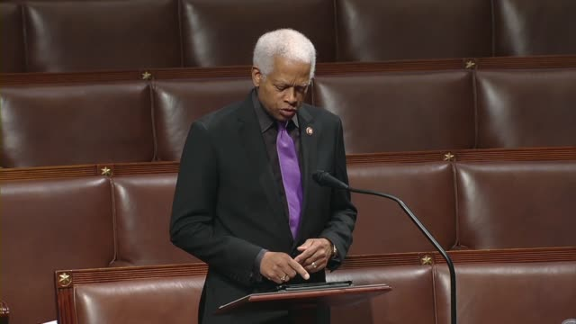 georgia congressman hank johnson says days after minneapolis resident george floyd died in police custody that being unable to breathe it was a point... - 12 13 years stock videos & royalty-free footage