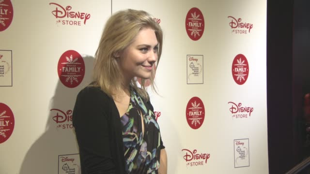 georgia lock at disney store christmas vip party at disney store on november 9 2016 in london england - lock stock videos and b-roll footage