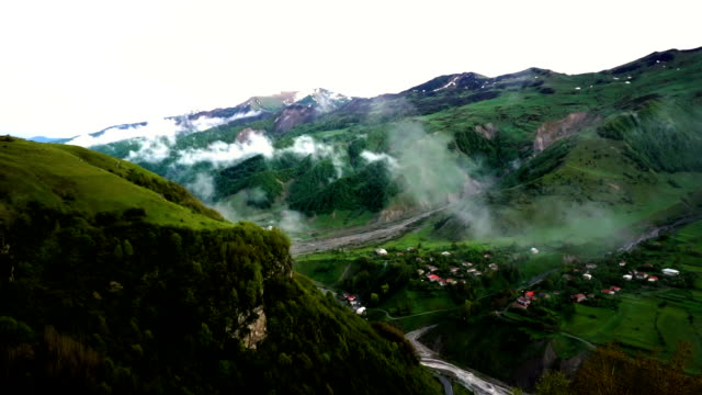 georgia- northern slope of the greater caucasus 1 - caucasus stock videos and b-roll footage