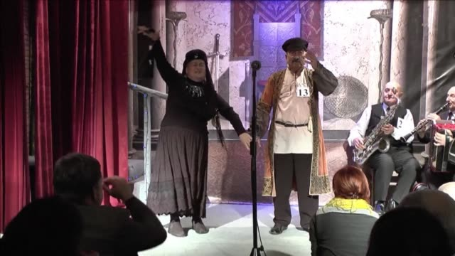 Georgian grandparents aged 70 and over battled it out Monday for the title of this year's super grandmother and grandfather competition