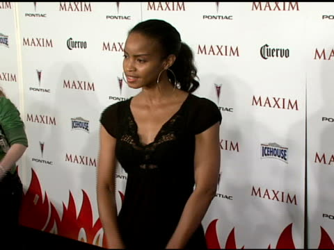 Georgianna Robertson at the Maxim's 8th Annual Hot 100 Party at Ono at The Gansevoort Hotel in New York New York on May 16 2007