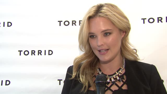 INTERVIEW Georgina Burke on being the face of Torrid on how she feels to see customers make over their wardrobe on what people say about what plus...
