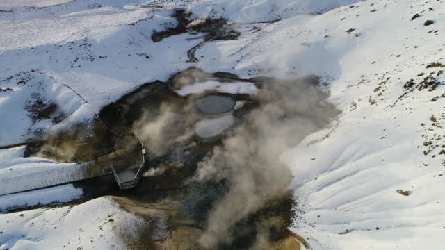 Geotermiska Flygfoto, Island