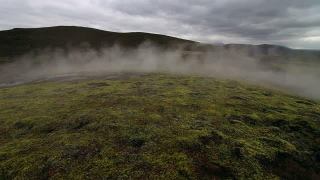 geothermie, island - rätsel stock-videos und b-roll-filmmaterial