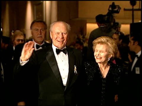 Gerald Ford at the Carousel of Hope Gala at the Beverly Hilton in Beverly Hills California on October 25 1996