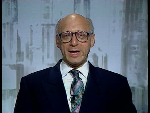 shadow cabinet resignation; cf tape no longer available england, london, westminster cms gerald kaufman mp intvwd sof - younger generation can give... - gerald kaufman stock videos & royalty-free footage