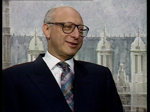 shadow cabinet resignation; cms gerald kaufman intvwd sof - i'm leaving to make way for new blood - gerald kaufman stock videos & royalty-free footage