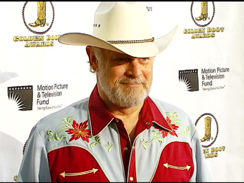 gerald mcraney at the motion picture and television fund's 24th golden boot awards at the beverly hilton in beverly hills california on august 12 2006 - motion picture & television fund stock videos & royalty-free footage