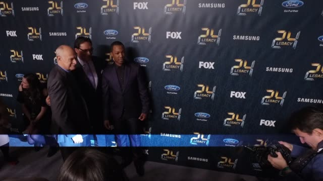 gerald mcraney jimmy smits and corey hawkins at24 legacy premiere event red carpet at spring studios on january 30 2017 in new york city - jimmy smits stock videos and b-roll footage