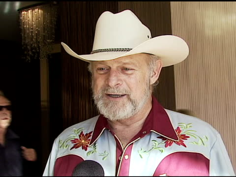 gerald mcraney on what makes a cowboy why he's in attendance clint eastwood and his favorite western movie at the the motion picture and television... - motion picture & television fund stock videos & royalty-free footage