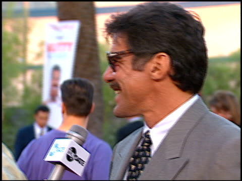 geraldo rivera at the premiere of 'the nutty professor' at universal amphitheatre in universal city california on june 28 1996 - 1996 stock videos and b-roll footage